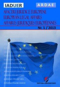 Publicatia Asociatiei romane de drept si afaceri europene
